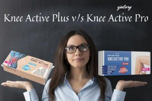 Jaký je rozdíl mezi Knee Active Plus a KneeActive Pro
